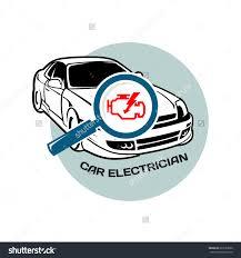 car electrician logo template auto scan stock vector 234164944 car electrician logo template auto scan for errors