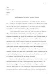example essay english