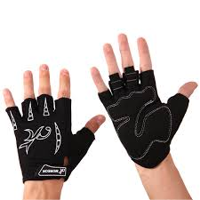 Personality Punk Men&#39;s Faux Leather <b>Half Finger Gloves</b> ...