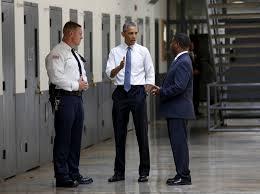 prison reform rand u s president barack obama tours the el reno federal correctional institution in el reno oklahoma