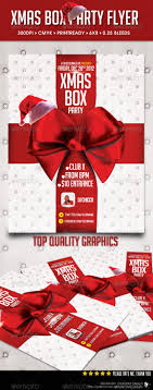 xmas box flyer template startupstacks com xmas box flyer template