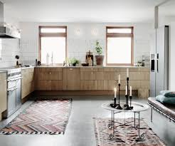 Concrete Floor Kitchen Concrete Floor And Wooden Cupboards Coco Lapine Designcoco