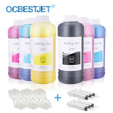 <b>500ml</b>/Bottle <b>Eco Solvent</b> Ink Bottle For Epson L362 L366 L800 ...