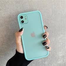 <b>Mint Hybrid Simple Matte</b> Bumper Phone Case for Iphone 11 Pro ...