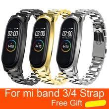 Best value <b>mi band</b> 4 stainless steel <b>wristband</b> – Great deals on <b>mi</b> ...