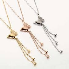 <b>SMJEL</b> Fashion <b>Butterfly</b> Necklaces Set Gold Animal Pendants ...