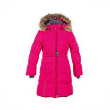 Детские <b>пальто</b> и плащи для <b>девочек</b> цвета фуксии – купить в ...