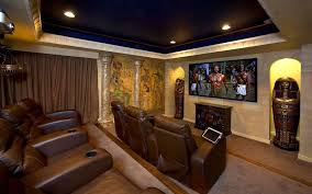 decorationsattractive vintage media room design wooden beam ceiling black leather sofa exposed stone wall black leather sofa perfect