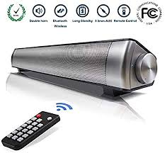 TV Sound <b>Bar Wireless Bluetooth</b> Speaker Soundbar LP-08 ...