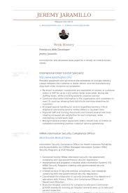 freelance web developer resume samples   visualcv resume samples    freelance web developer resume samples
