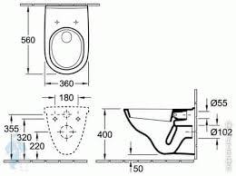 <b>Унитаз подвесной Villeroy &</b> Boch O.NOVO 5660 H1 01 ...