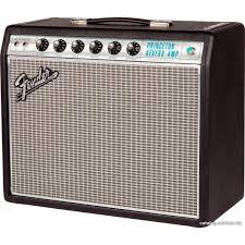 ламповый <b>гитарный комбо-усилитель FENDER</b> '<b>68</b> CUSTOM ...