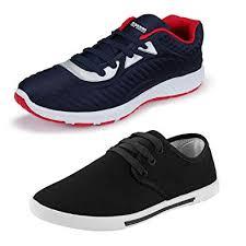 Earton <b>Men</b> Comfortable & <b>Trendy</b> Look Canvas <b>Running Shoes</b> ...
