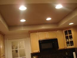 recessed lights for kitchen