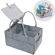 Large Firewood <b>Basket</b>,<b>Storage Felt</b> Shopping <b>Basket</b> Cloths Bag ...