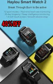 smart watch <b>Haylou LS02 1.4inch</b> Ture Color Full Touch 12 Sports ...