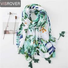 <b>VISROVER</b> Bohemian Ethnic beach <b>scarf</b> summer <b>scarf</b> for <b>women</b> ...