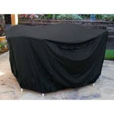 outdoor patio table and chair cover these durable heavy duty 6 gauge flexible black black patio furniture covers