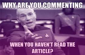 The 50 Funniest Annoyed Picard Memes | Complex via Relatably.com