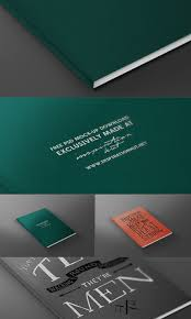 magazine book front cover mock up template psd file
