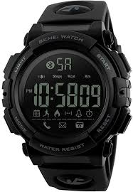 SKMEI Bluetooth <b>Sport Smart Watch</b>, Farsler 50M Waterproof Calorie...