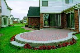 how to make a patio out of pavers build a raised patio out of brick pavers