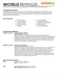 Dentist Resume Sample 5 Sample Resume For Registered Dental ... job wining dental assistant resume samples dental assistant sample resume and cv