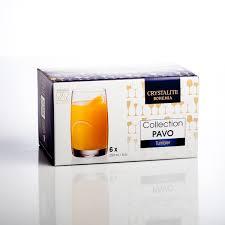 <b>Набор стаканов Crystalite Bohemia</b> Pavo 250 мл 6 шт (1001882085)