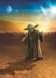Komar <b>Star Wars</b> Master Yoda 4-442 (184x254) <b>Фотообои</b> купить в ...