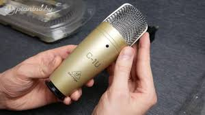 Обзор и тест <b>микрофона Behringer C-1U</b> - YouTube