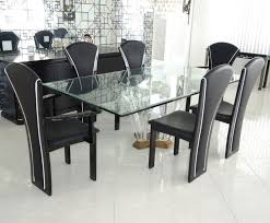 modern wood dining room sets:  pcs s ello pietro constantini attrib black lacquer amp leather dining chair