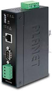 Planet ICS-2100 IP30 Industrial Media Converter <b>RS-232</b>/<b>RS</b>-<b>422</b> ...
