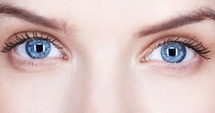 المياه الزرقاء العين علاجها