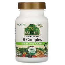 <b>Source of Life Garden</b>, Certified Organic B-Complex, 60 Vegan ...