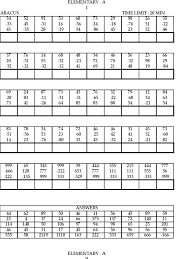 Abacus Maths Level 2 Worksheets - vedic maths level 1 worksheets ...abacus maths level 3 worksheets educational math activities