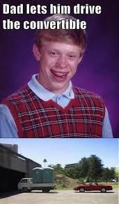 Best of the 'Bad Luck Brian' Meme! | SMOSH via Relatably.com