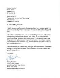 peer recommendation letter recommendation letter 2017 mba