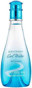 Davidoff <b>Cool Water</b> Woman <b>Caribbean Summer</b> Edition Eau de ...