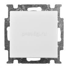 <b>Выключатель</b> 1-клав <b>Basic 55</b> Альпийский белый <b>ABB</b> 1012-0-2139