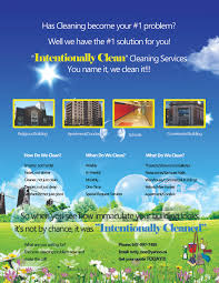 perion prince production come view the world through my mind s intentionally clean cleaning services flyer