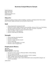 sample business resume getessay biz business analyst sample business analyst sample page in sample business
