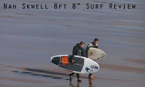 """Review of the Nah Skwell <b>8ft</b> 8"""" <b>Surf SUP board</b> - Stand Up Paddle ..."""