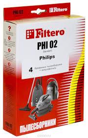 <b>Filtero PHI 02</b> Standard <b>мешок</b>-<b>пылесборник</b>, 4 шт — купить в ...