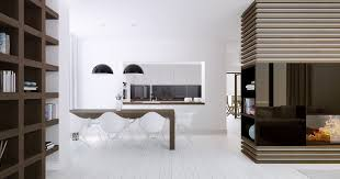 amazing white wood furniture sets modern design:  white dining room