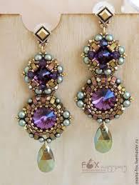 """Серьги-<b>пуссеты</b> """"Floren"""" с кристаллами <b>Swarovski</b> – заказать на ..."""