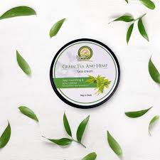 Natural and Vegan <b>Green Tea</b> and Hemp <b>Face</b> Cream, <b>50g</b> – The ...