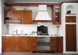 real wood kitchen drawer