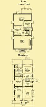 Narrow Lot Cottage Plans  Story Bungalow Plans  amp  Small Cottage PlansHome Plan Detail  Narrow Lot Cottage