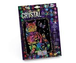 <b>Danko</b> Toys Набор креативного творчества Crystal Mosaic Кот с ...
