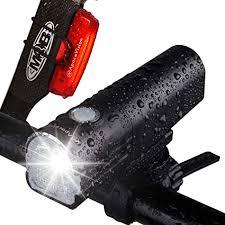 Apace Vision GlareFX Pro800 Bike Light Set <b>USB Rechargeable</b>